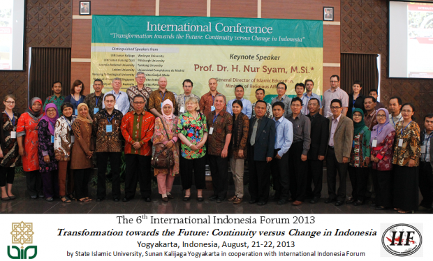 International Conference UIN Jogja 2013
