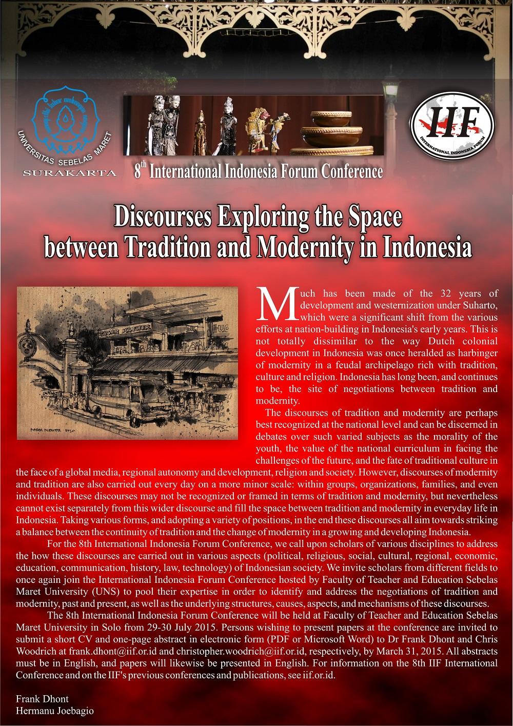 Poster, IIF 2015