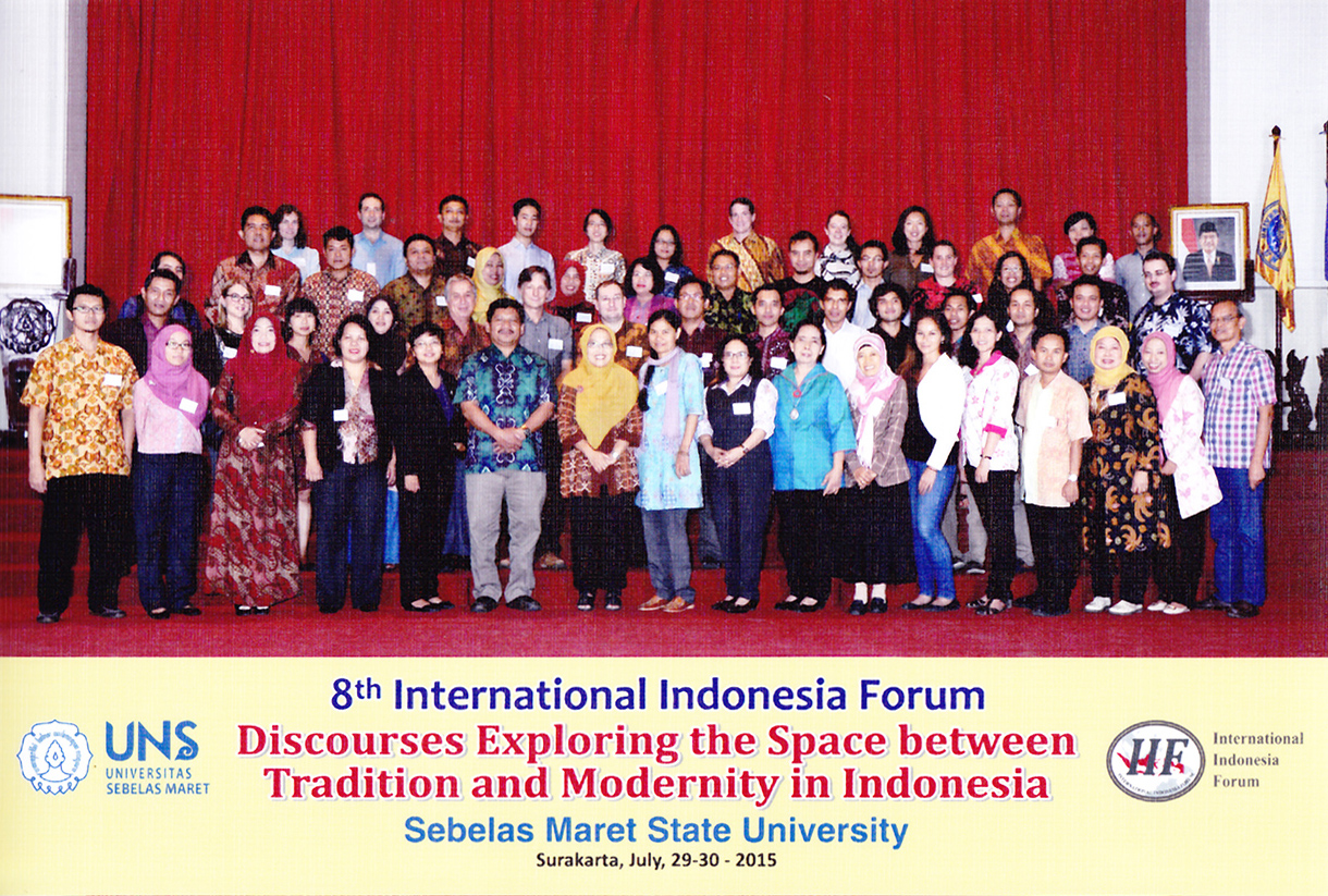 8th International Indonesia Forum, July 29-30, 2015
