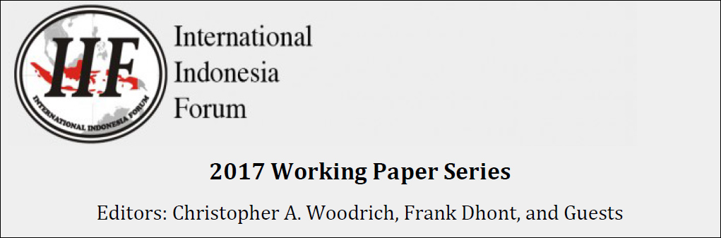 2017 IIF Working Papers Series